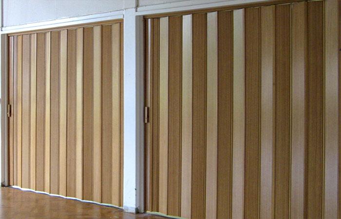 Durable PVC Folding Doors Abu Dhabi