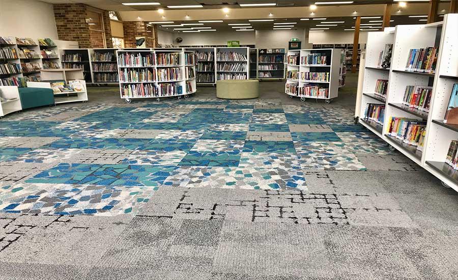 Methods For Installing Carpet Tiles