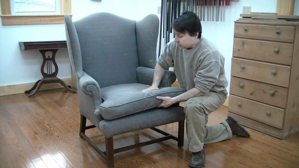 Easiest Way To Reupholster The Chair