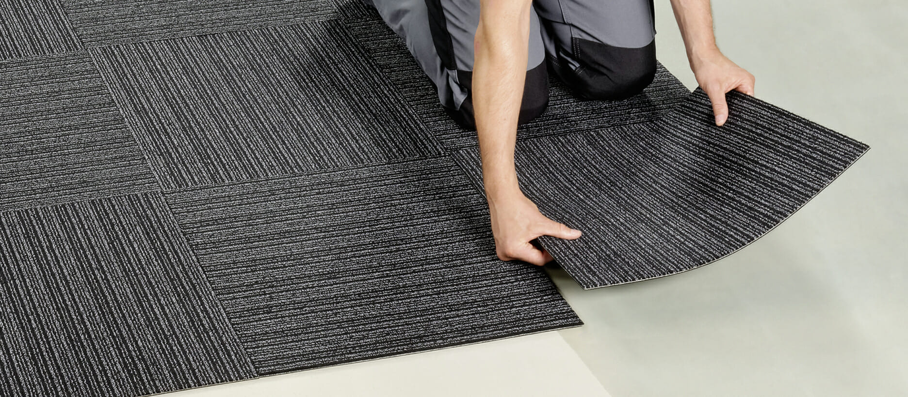 Carpet Tiles On Uneven Areas